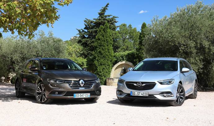 Comparatif vidéo - Opel Insignia Sports Tourer vs Renault Talisman Estate : différend familial