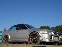 Photo du jour : Mitsubishi Lancer Evolution 6