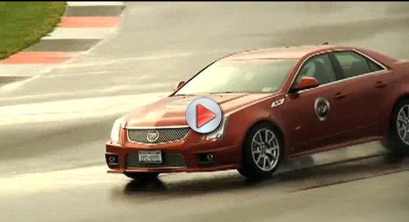 [Vidéo] La Cadillac CTS-V attend toujours ses concurrentes sur le circuit de Monticello