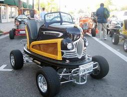 Insolite : Hot Rod tamponneuse Street Legal !