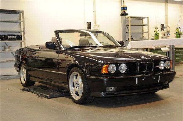 La BMW M5 cabriolet que nous n'avons pas eue