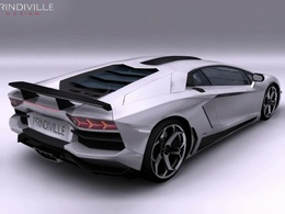 Lamborghini Aventador par Prindiville : à voir
