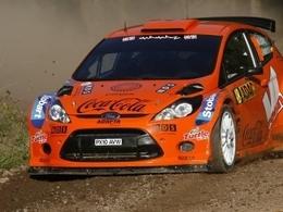 Ostberg avec M-Sport Stobart Ford