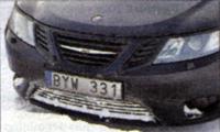Lifting Saab 9.3 débusqué : transition