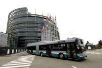 Un bus hybride débarque à Strasbourg !