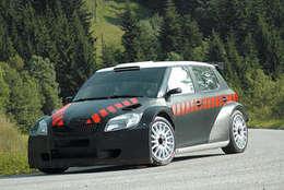 Rallye : Carlos Sainz dans la Skoda Fabia S2000
