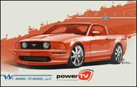 Heretic: Une Ford Mustang à moteur de Corvette !