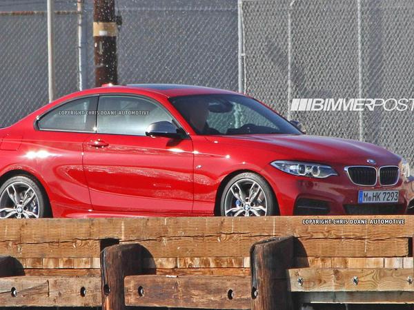 La BMW M2 se précise un peu plus
