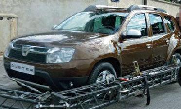 Le futur Dacia Duster se montre à nouveau