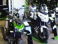 Kawasaki: inauguration de Flash Motos à Alençon le samedi 20 juin 2015