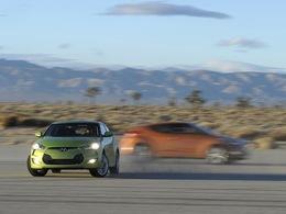 Détroit 2011 : le Hyundai Veloster s'anime en vidéo