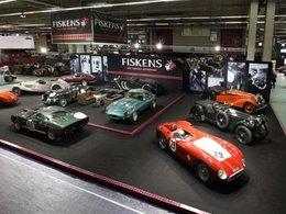 Rétromobile 2012 - Olivier Panis présentera la collection Fiskens