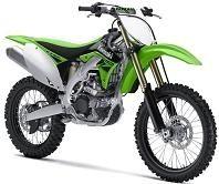 Nouveauté cross 2010 : Kawasaki 450 KX-F