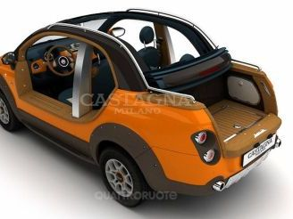 Fiat 500 Pick-up cabrio par Castagna
