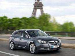 Insignia ecoFlex et nouvelles motorisations sur le stand Opel