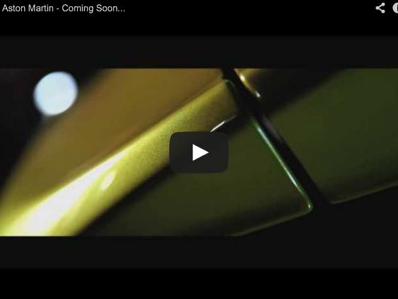 Une nouvelle Aston Martin en teasing