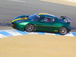 Lotus avec la famille Mansell