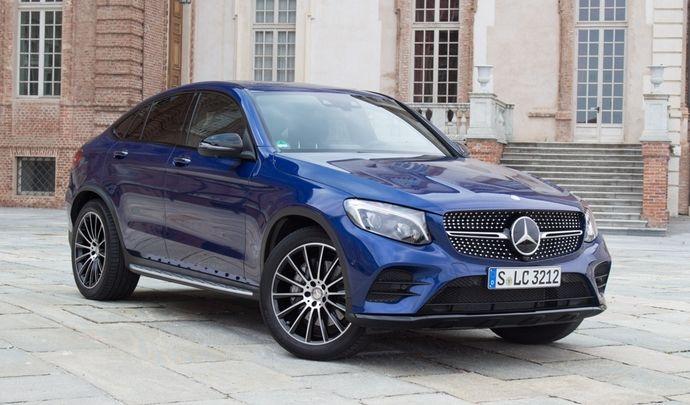 Le Mercedes GLC Coupé arrive en concession : voler la vedette au BMW X4