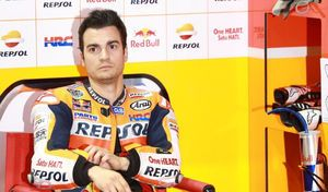 #AragonGP MotoGP J.1: Pedrosa leader sous la pluie!