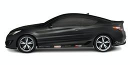SEMA Show : 500 chevaux pour la Hyundai Genesis préparée par les étudiants de Hennessey