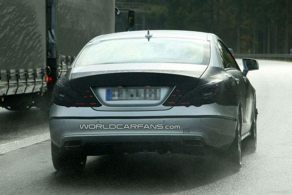 Nouvelles photos de la prochaine Mercedes CLS
