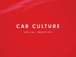 Garagisme: nouvelle revue consacrée à la culture automobile