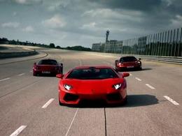 Top Gear de retour : Aventador vs M600 vs MP4-12C, de Nardo à Imola