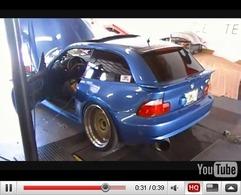 Réveil Auto - BMW Z3 M Coupé Turbo, les vidéos... avant la catastrophe