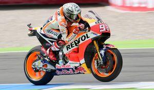 MotoGP Aragon J.2: plus dure a été la chute pour Marc Marquez