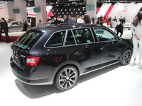 Skoda Fabia combi : du coffre ! - En direct du salon de Paris 2014