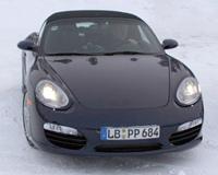 Lifting Porsche Boxster: de plus en plus près