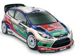WRC : la Ford Fiesta WRC en tenue de combat