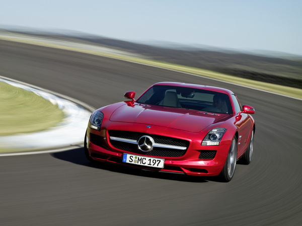 Mercedes SLS Black Series : en 2013 avec 600 ch