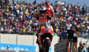 MotoGP - Aragon J.3 : Márquez balaise