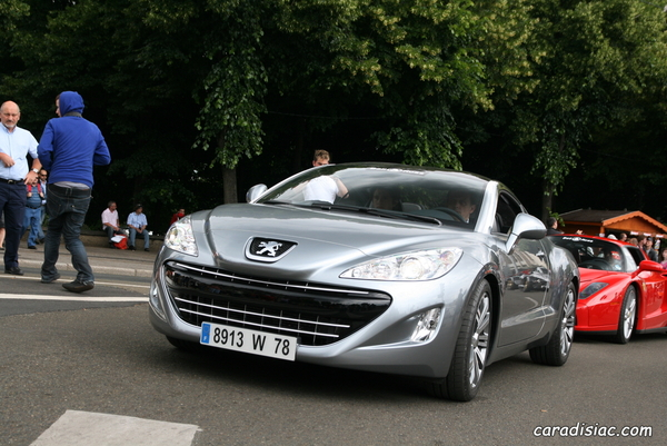 Photos du jour : Peugeot 308 RCZ