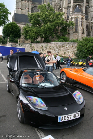 Photos du jour : Tesla Roadster