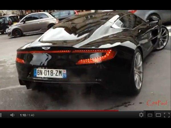 [vidéo] Pas simple, la vie en Aston Martin One-77
