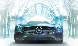Exposition - 130 ans d'histoire Mercedes au Grand Palais à Paris