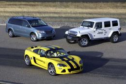 Chrysler s'associe à Lotus et présente 3 prototypes électriques