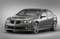 Salon de Chicago: Pontiac G8