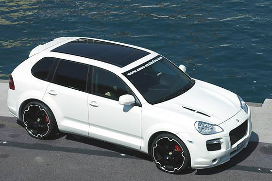 Porsche Cayenne Enco : 550 GT !!