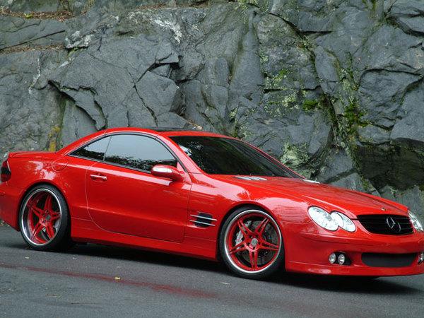 Mercedes 500 SL Ai Design : Colorée et sonore !!