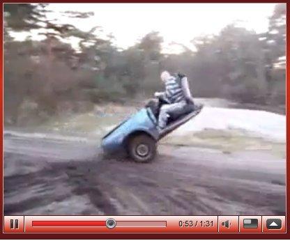 [vidéo] la Mini Golf serbe n'est pas une Polo ...
