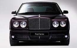 Bentley Arnage Final Series : les adieux à Paris