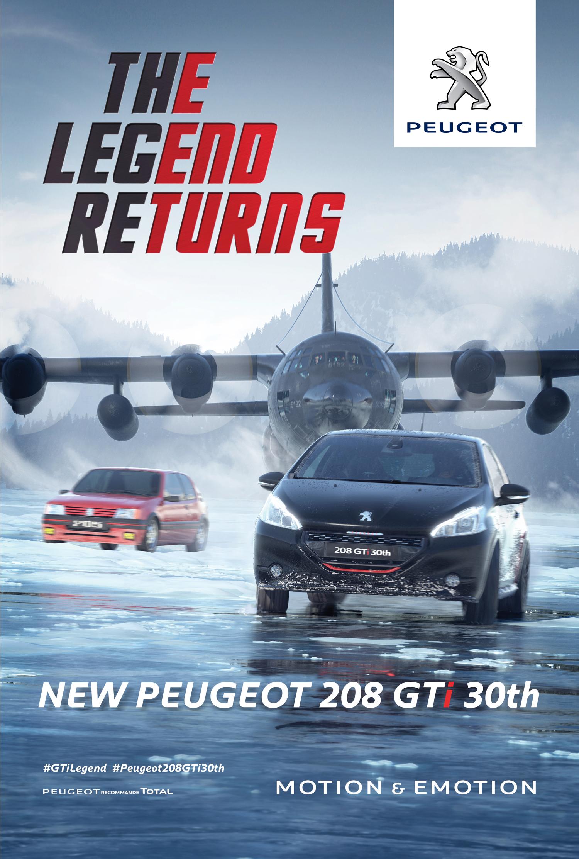 Peugeot 208 Gti 30th La L 233 Gende Est De Retour Le Film
