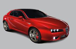 Alfa Romeo Brera Ti : Tourisme International de première classe
