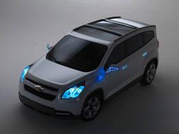 Chevrolet Orlando Concept : toutes les photos en avant-première