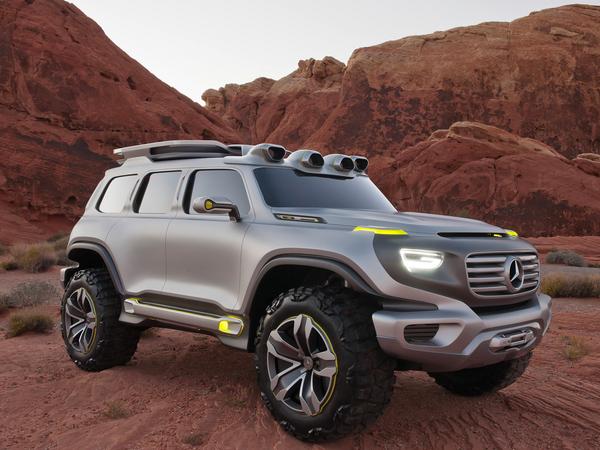 Mercedes: l'hypothèse GLB pour 2019 se précise