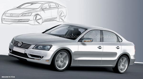 Future Volkswagen Passat US : à peu près comme ça