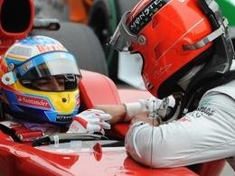 Alonso : « Schumi, le plus dangereux »